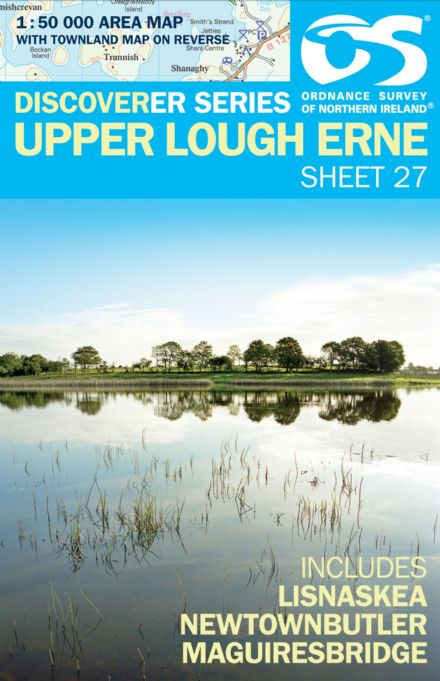 Ordnance Survey Northern Ireland 1:50,000 - Map 27 - Upper Lough Erne (Lisnaskea)